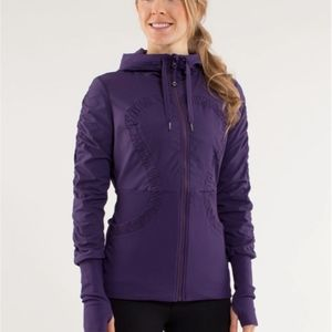 NWOT Lululemon Dance Studio Jacket (Grape)